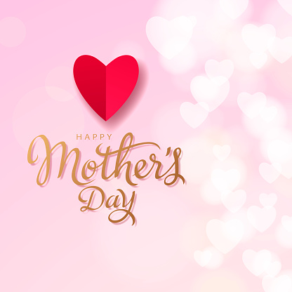 Mother's Day Loving Hearts
