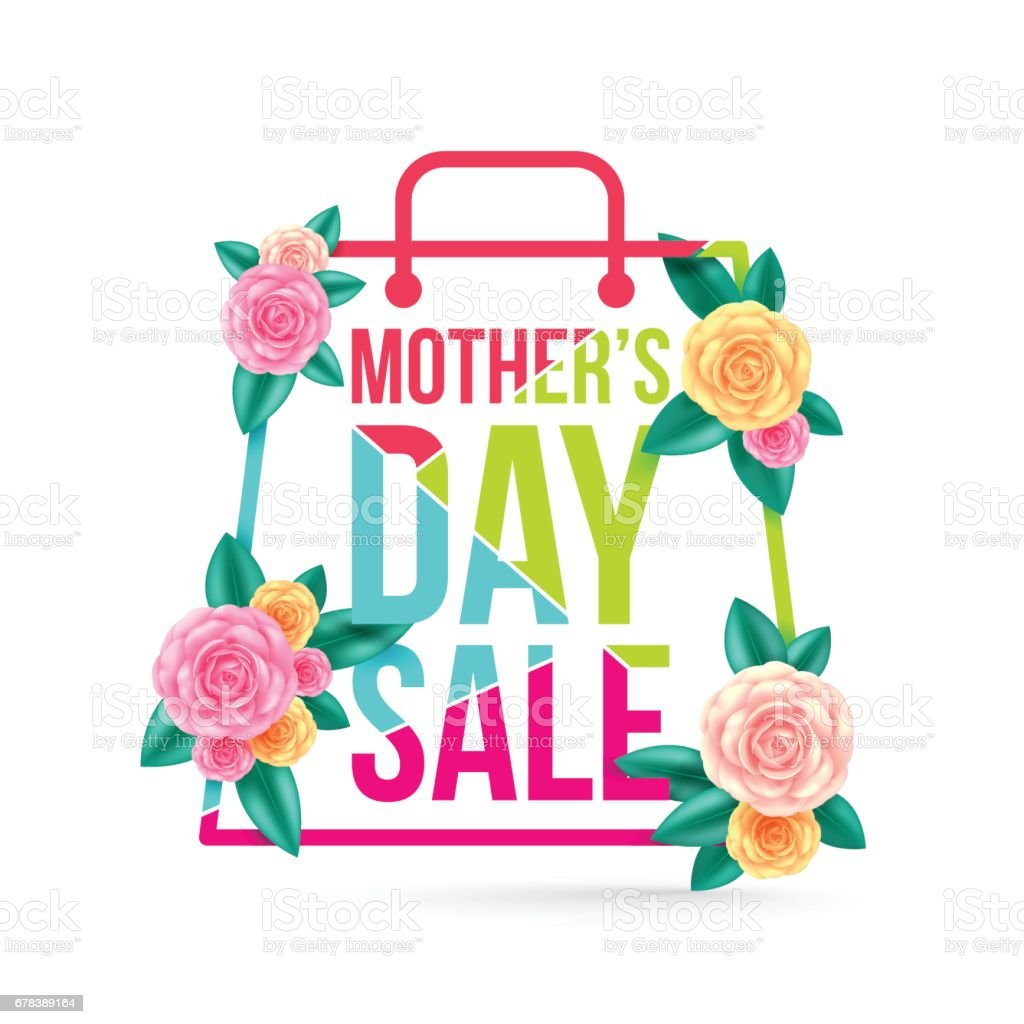 Mothers day sale with beautiful flower for bannersflyersposters mothers day sale with beautiful flower for bannersflyersposters brochureinvitation izmirmasajfo