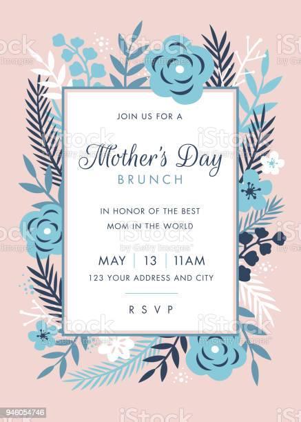 Mothers day themed invitation design template vector id946054746?b=1&k=6&m=946054746&s=612x612&h=8e0ktscnyrsp3vv wfprqqspsm35b2 fl35jsynqq6w=
