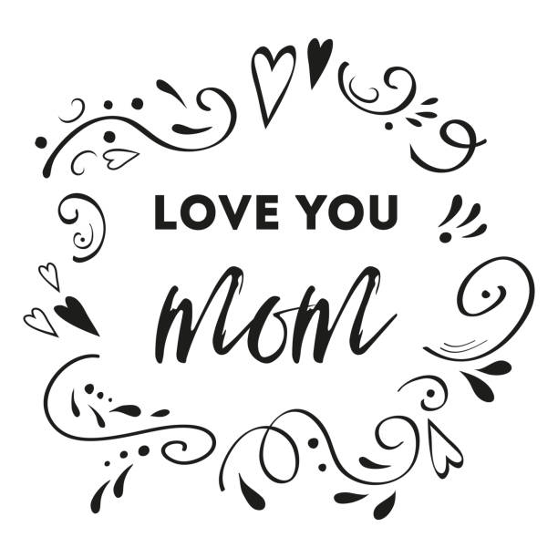 Download Cute Mothers Day Quotes Illustrations, Royalty-Free Vector ...