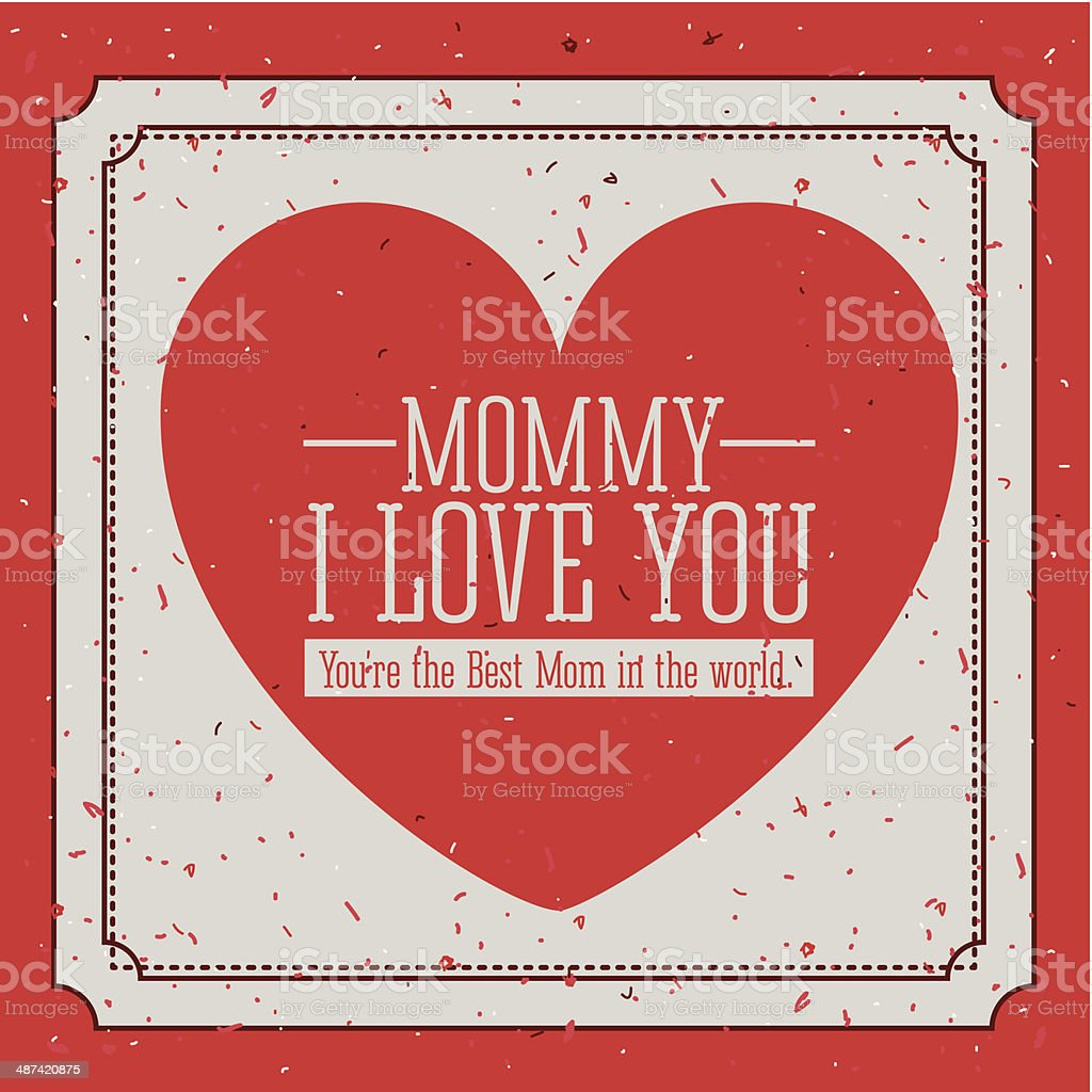 Mothers  Day royalty-free mothers day stock vector art & more images of adhesive note