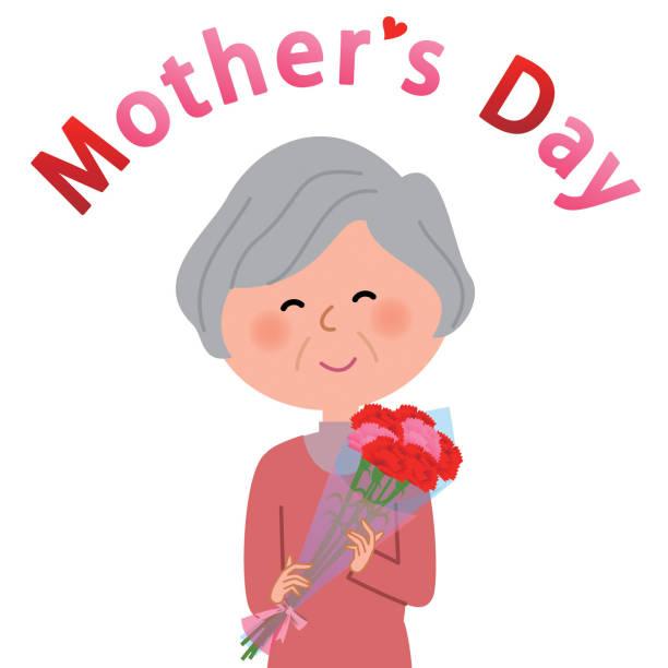 Mother's Day vector art illustration