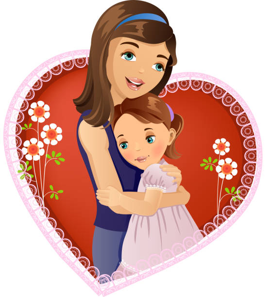 Best Daughter Illustrations, Royalty-Free Vector Graphics