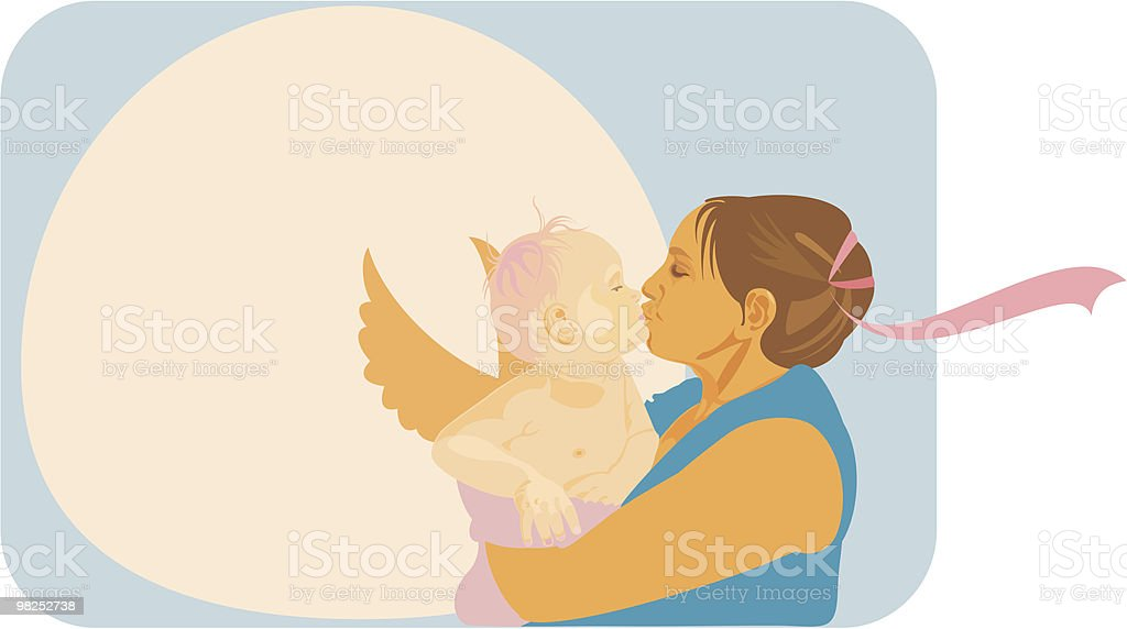 mother's love royalty-free mothers love stock vector art & more images of adult