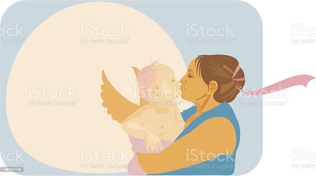 Madre di amore madre di amore - immagini vettoriali stock e altre immagini di accudire royalty-free