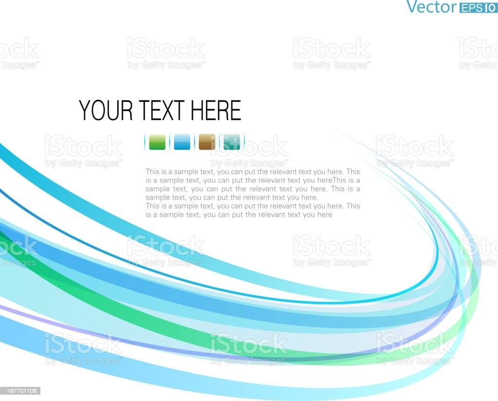 Motion abstract background vector art illustration