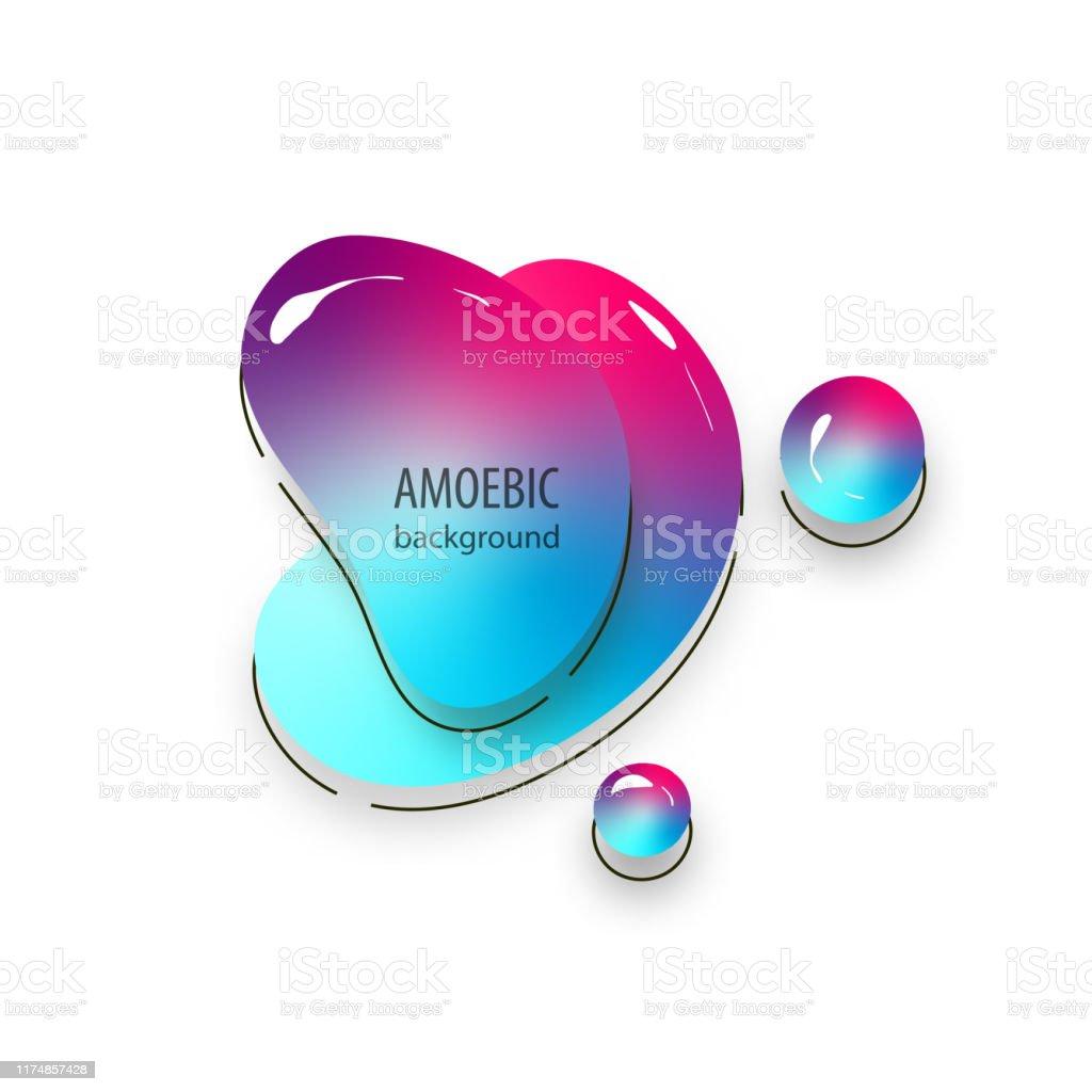 ameba en movimiento