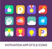 Motivation App Style Icons