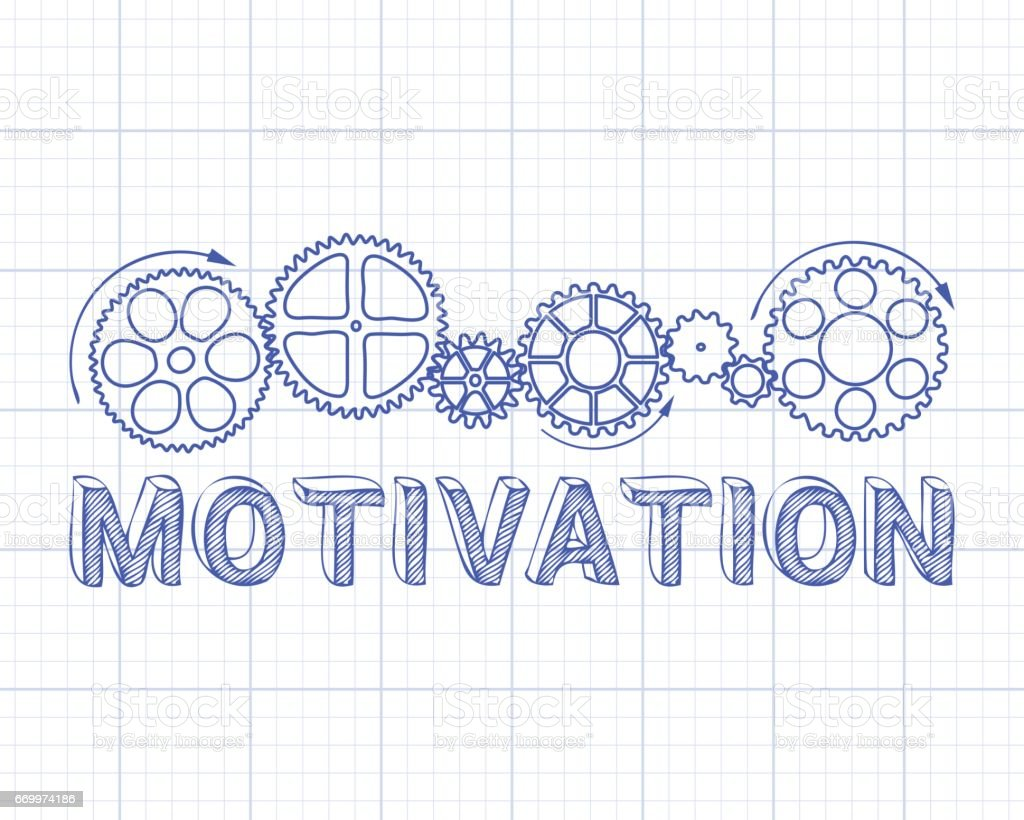 Motivation graph paper stock vector art 669974186 istock graph working uk bicycle gear blueprint malvernweather Gallery