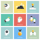 Motivation Icon Set