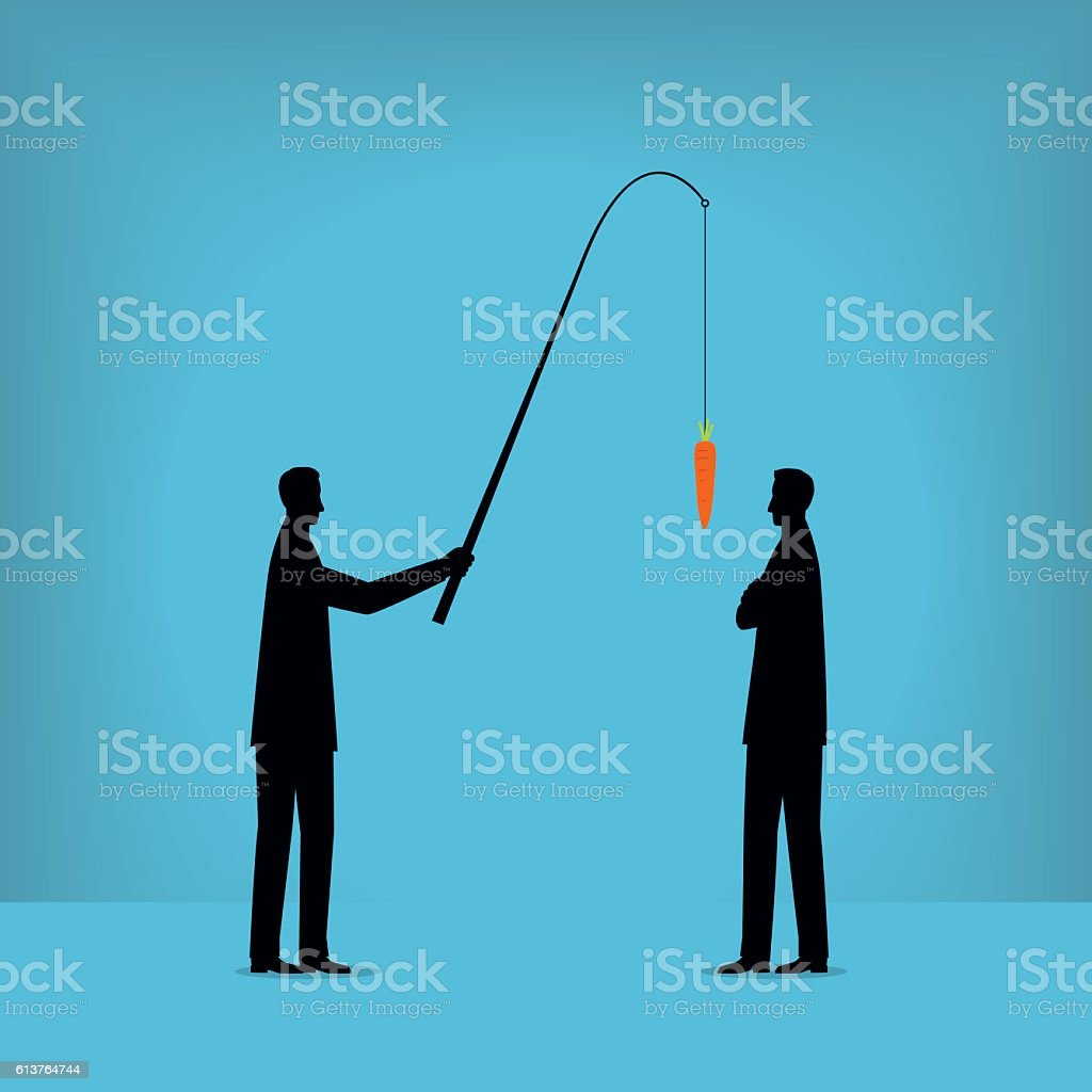 Motivação  - ilustração de arte em vetor