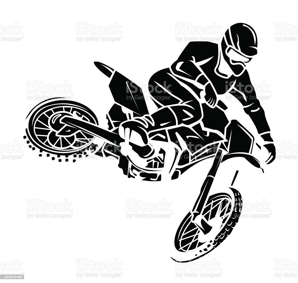 moto cross rider tatouage cliparts vectoriels et plus d. Black Bedroom Furniture Sets. Home Design Ideas