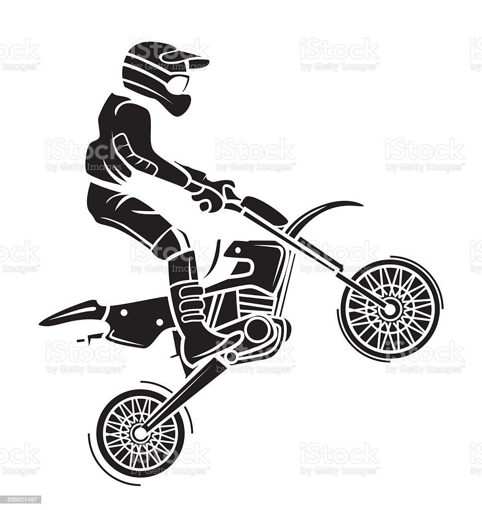 moto cross tatouage vecteurs libres de droits et plus d 39 images de illustration 535021497 istock. Black Bedroom Furniture Sets. Home Design Ideas