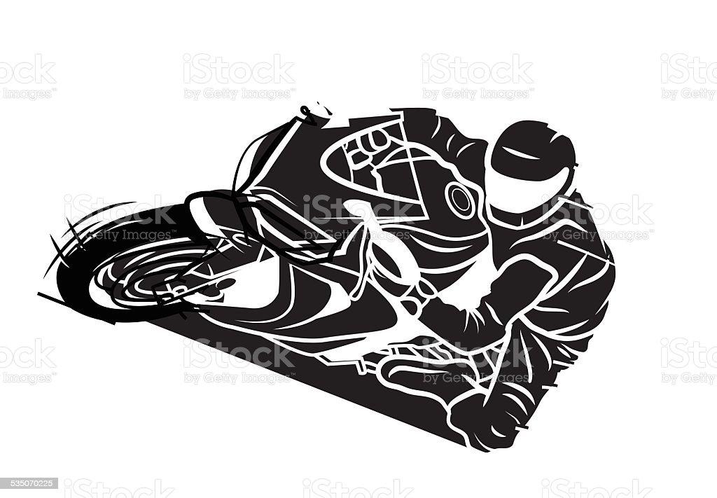 Moto Sport Tatouage Cliparts Vectoriels Et Plus D Images De Course