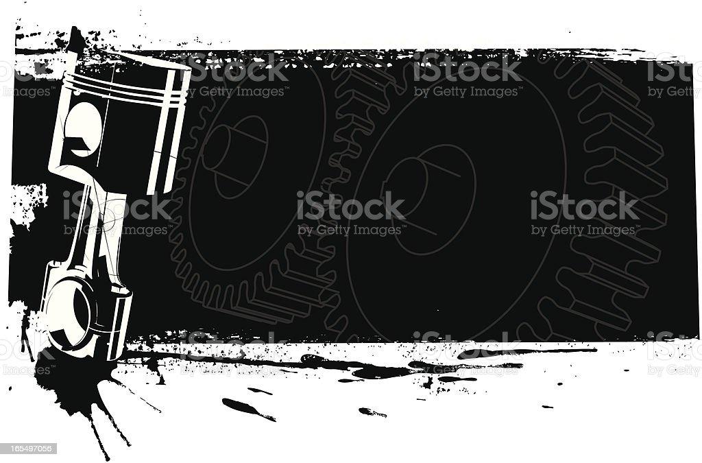 motor banner royalty-free stock vector art