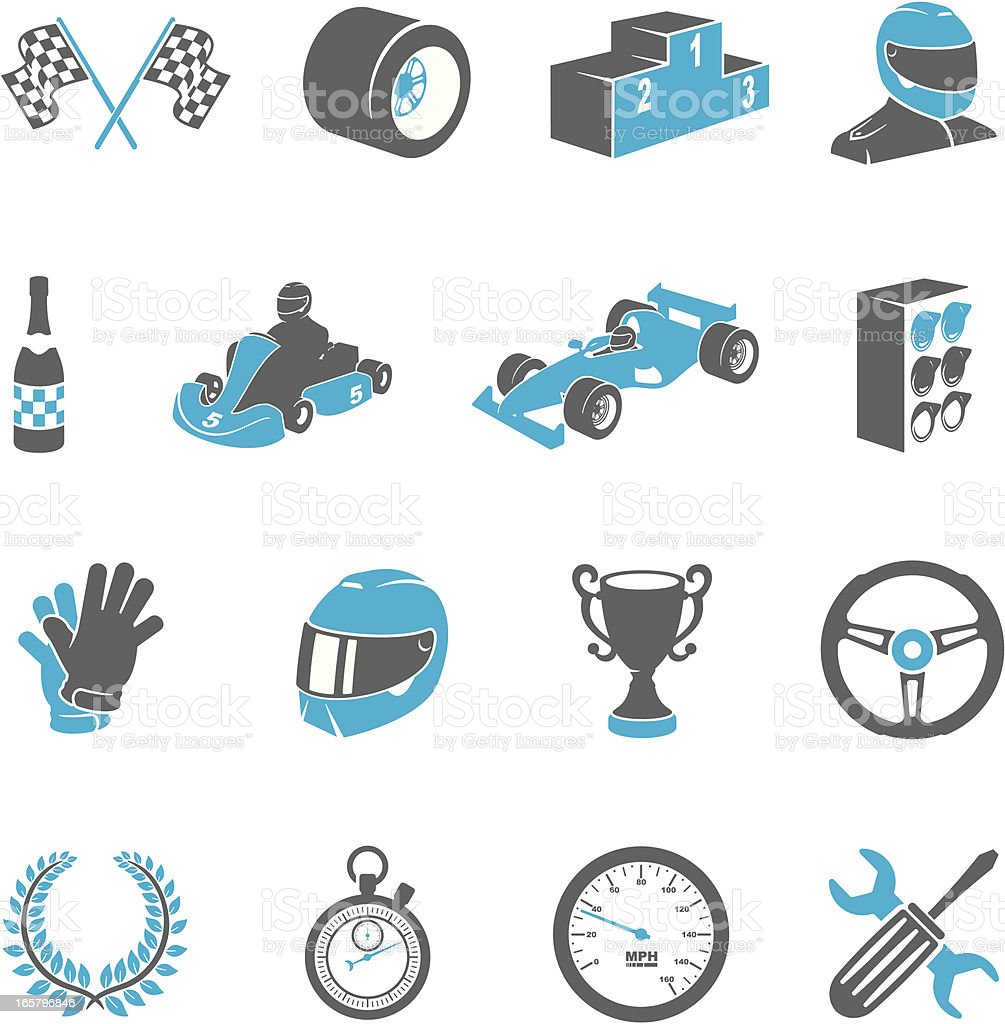 Motor Racing Icons royalty-free motor racing icons stock vector art & more images of auto racing