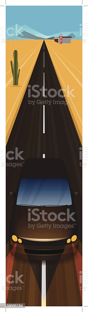 Motor Travel royalty-free motor travel stock vector art & more images of cactus