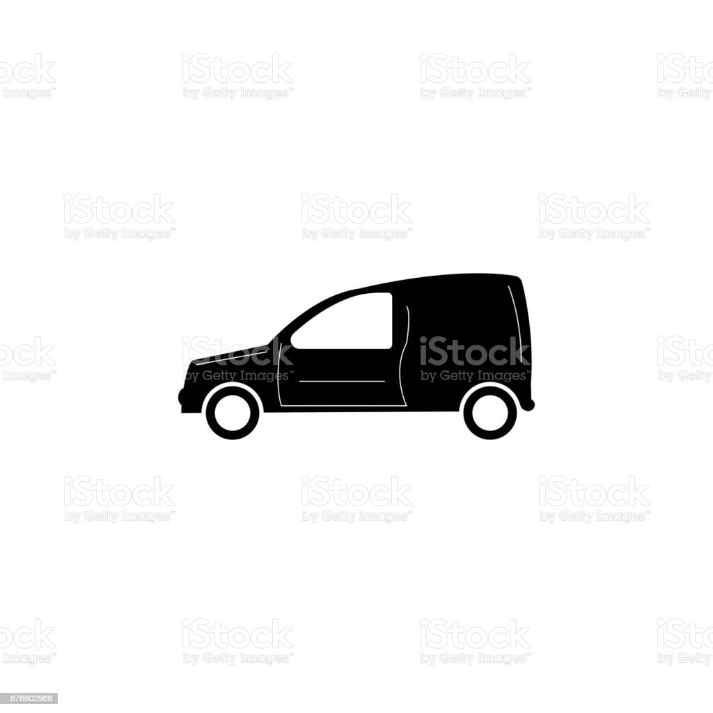 Motor Vansymbol Auto Art Einfaches Symbol Transport Elementsymbol ...