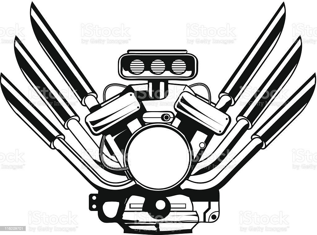 Motor royalty-free motor stock vector art & more images of activity