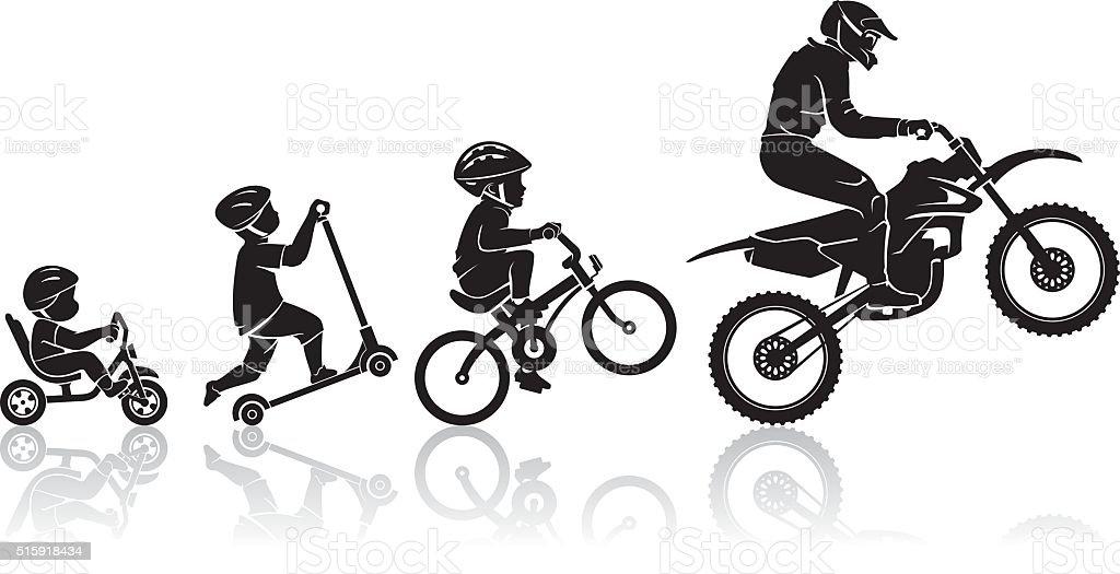 royalty free dirt bike clip art vector images illustrations istock rh istockphoto com dirt bike wheelie clipart dirt bike clipart black and white