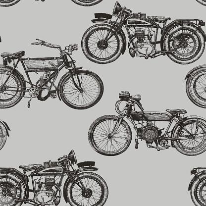 Motorbike Repeat Pattern