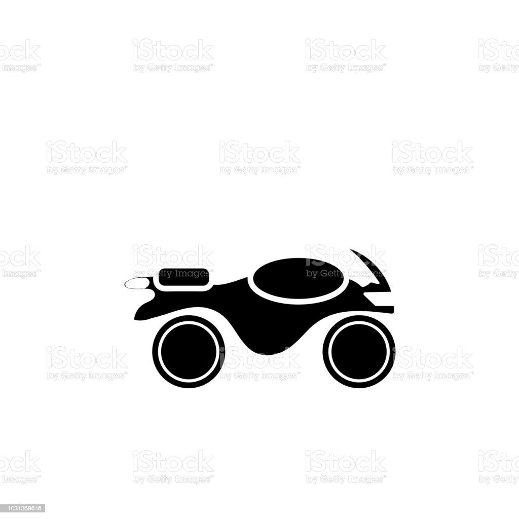 Motor Teken Pictogram Vector Geisoleerd Op Een Witte Achtergrond