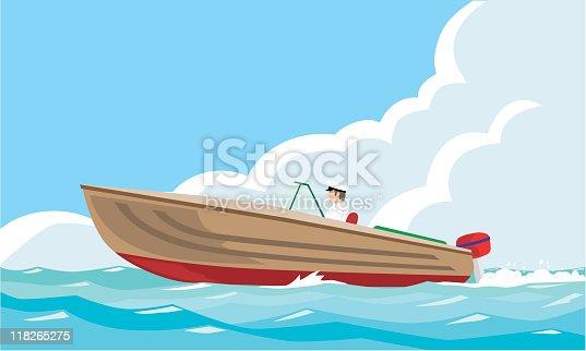 istock motor-boat 118265275