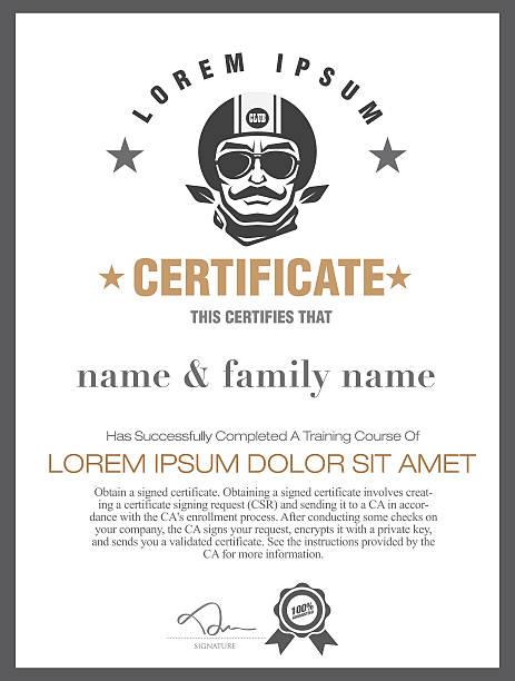 motorcycle  certificate. VECTOR motorcycle  certificate.VECTOR debenture stock illustrations