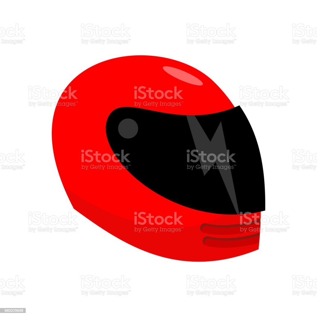 Motorcycle helmet red isolated. Racer helmet on white background royalty-free motorcycle helmet red isolated racer helmet on white background stock vector art & more images of adrenaline
