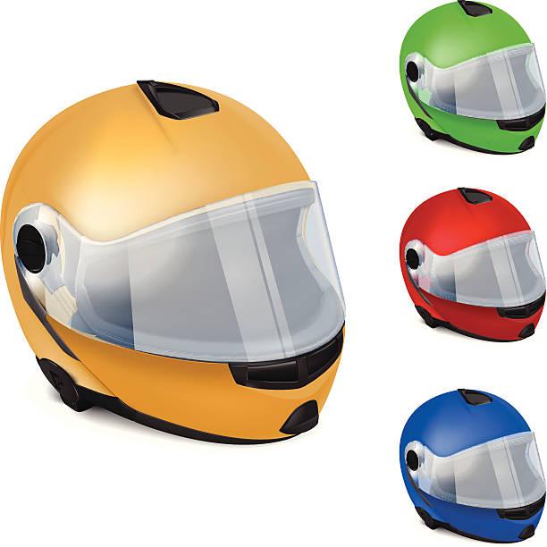 Motorrad-Helm – Vektorgrafik