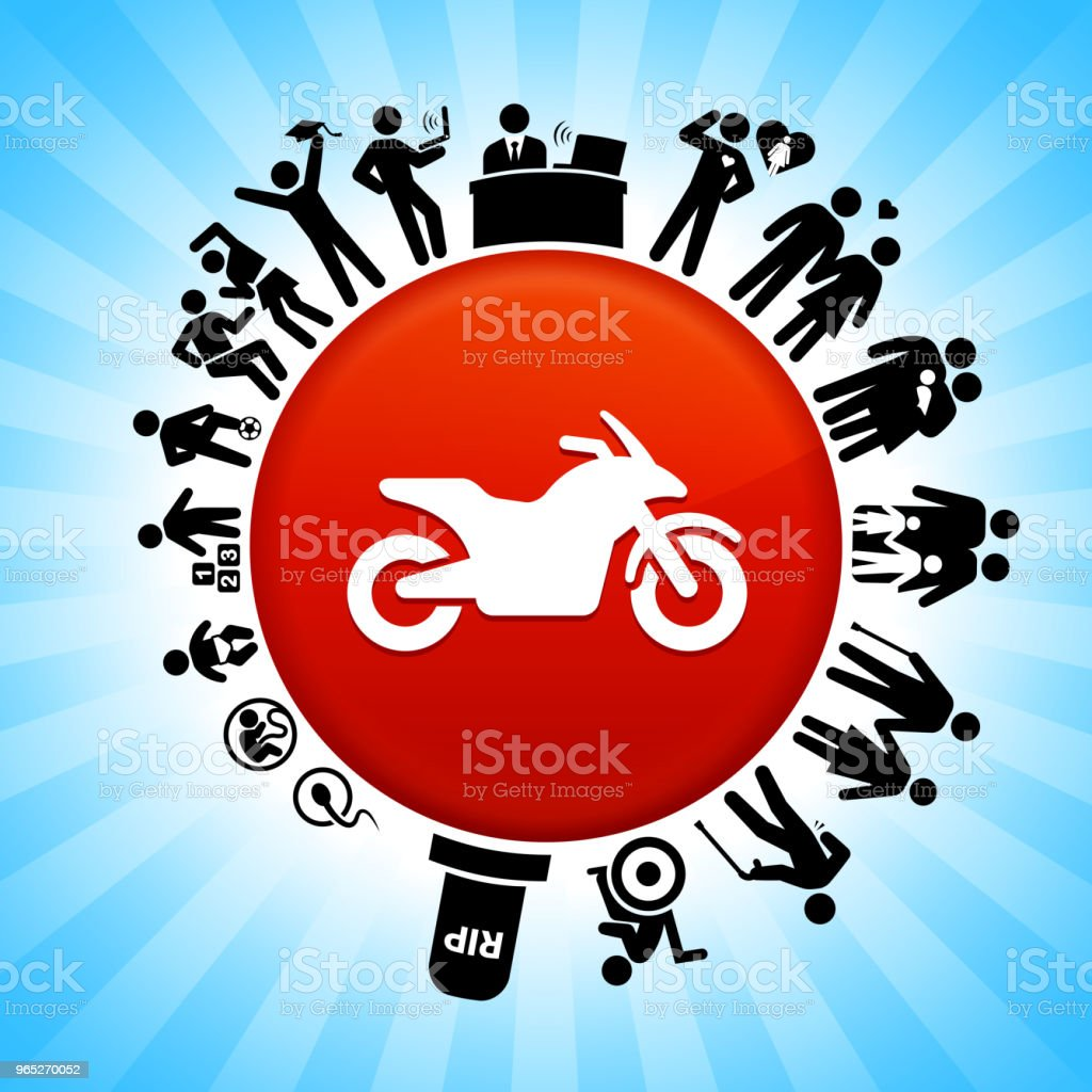 Motorcycle  Lifecycle Stages of Life Background royalty-free motorcycle lifecycle stages of life background stock vector art & more images of adolescence