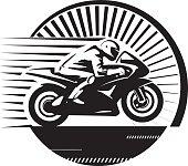 Motorcycle racer.