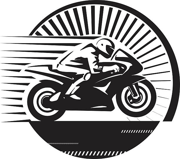 royalty free motorcycle racing clip art vector images
