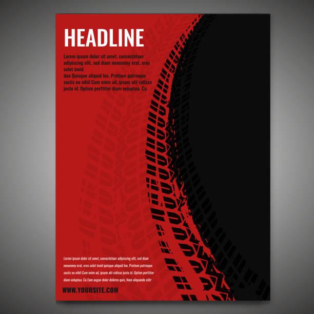 illustrazioni stock, clip art, cartoni animati e icone di tendenza di striscioni pneumatici moto 1-08 - transport truck tyres