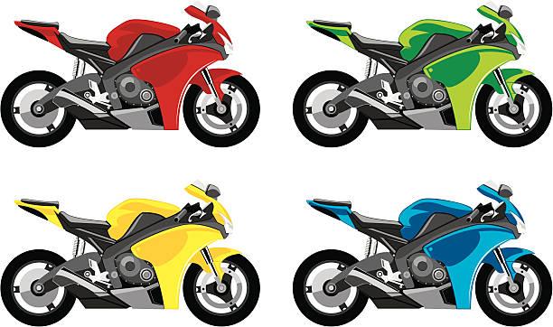 モーターサイクル - オートバイ点のイラスト素材/クリップアート素材/マンガ素材/アイコン素材