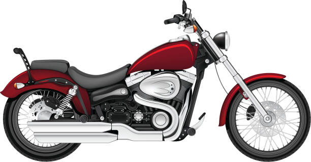 Motorrad – Vektorgrafik