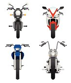 Motorcycles frontviews