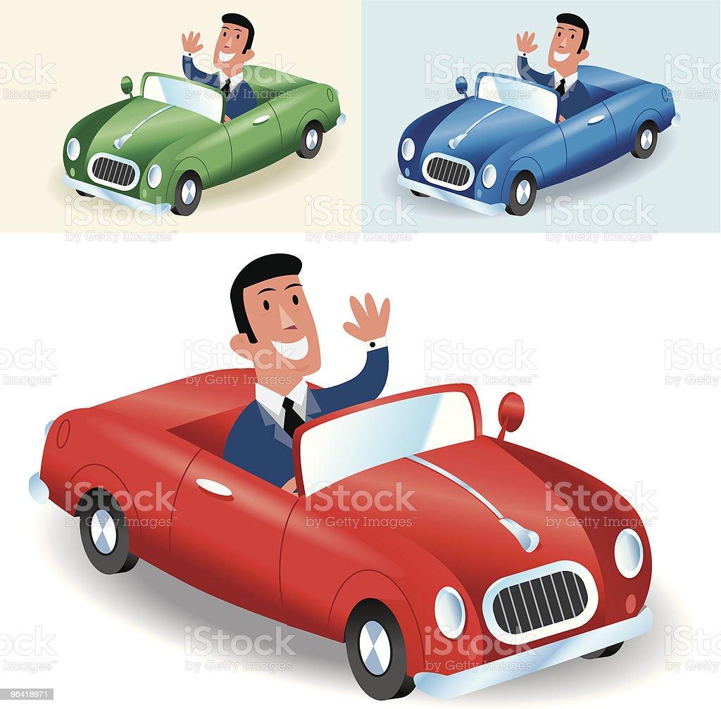 Motoring royalty-free stock vector art