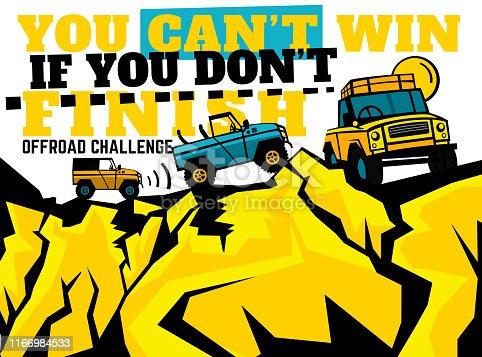 istock Motorsport event poster 1166984533