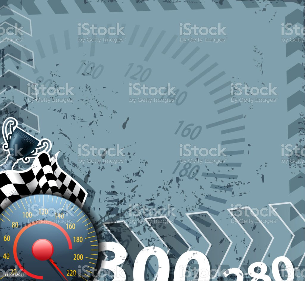 drawn of vector racing sport sign. This file of transparent and...