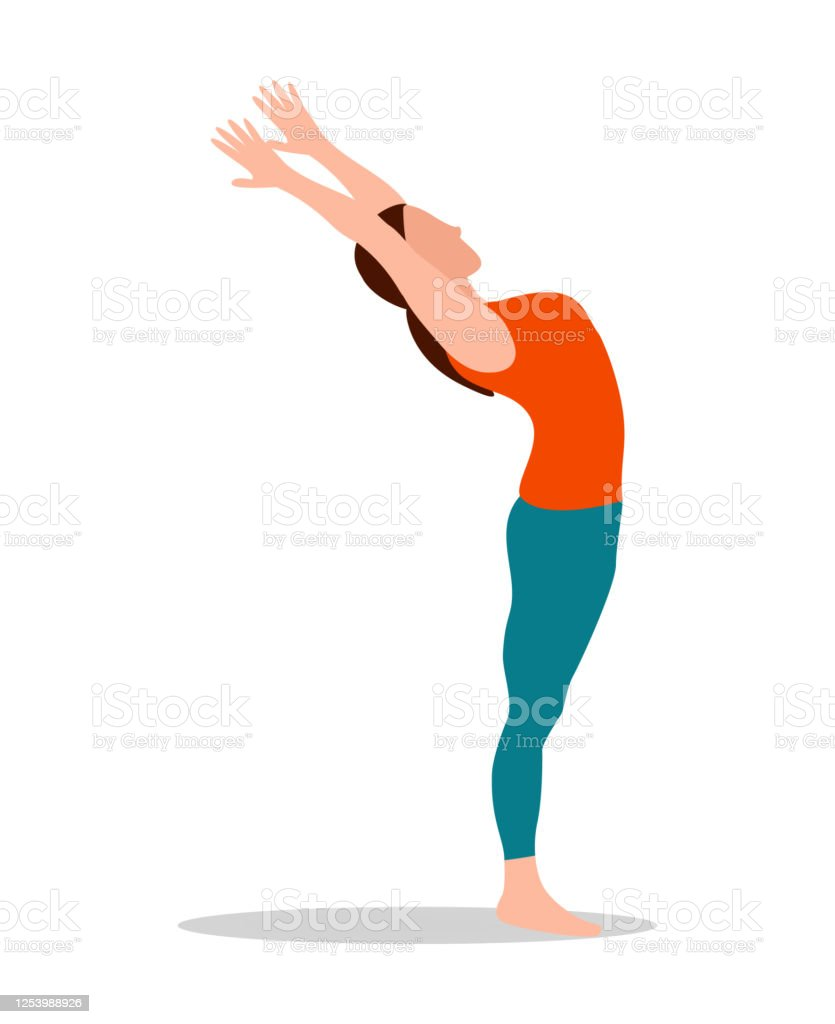 Mountain Pose Arms Up