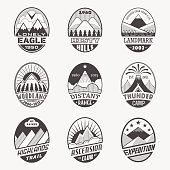 Mountain badge set2i