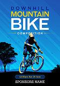 Vector design for a mountain bike tournament