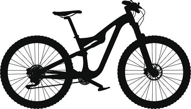 Best Mountain Bike Illustrations Royalty Free Vector