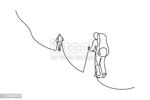 istock Mountain climbers 1279286197