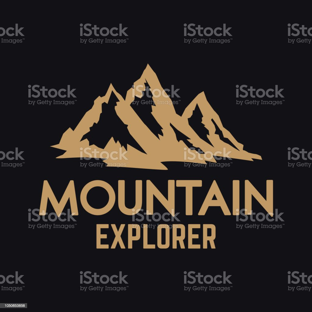 Vetores De Expedição Montanhosa Modelo Do Brasão De Armas