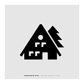 Mountain Hut Icon