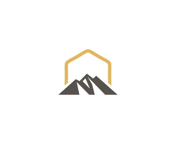 Mountain icon This illustration/vector you can use for any purpose related to your business. mountain peak stock illustrations