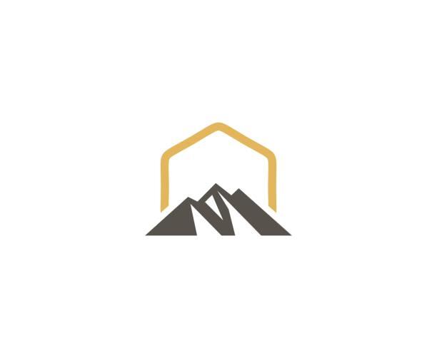 Bergikon – Vektorgrafik