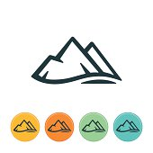 istock Mountain Icon 506396913